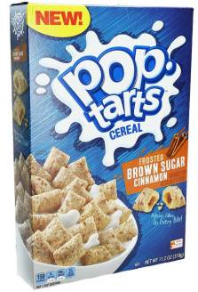 Kellogg's pop-tarts Cereal Frosted Brown Sugar Cinnamon 318