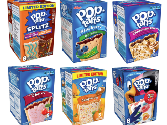Kellogg's Pop Tarts Sorten Collage