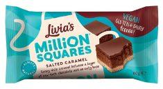 Livia's Million Squares Salted Caramel 60G
