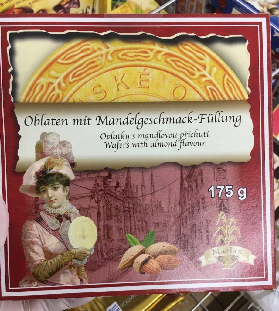 Marlax Karlsbader-Oblaten mit Mandelgeschmack-Füllung 175G