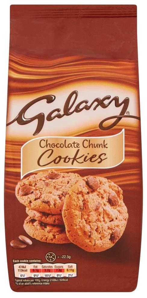 Mars Galaxy Chcolate Chunk Cookies