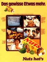 Anzeige Nestlé Nuts-Riegel