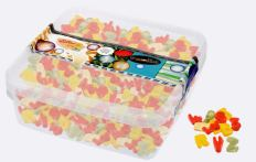 Pee Äm Deine Naschbox Fruchtgummi Buchstaben