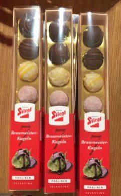 Stiegl 7 Braumeister-Kugeln Pralinen Selection