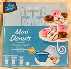 Sweet Delight Mini Donuts tiefgefroren 9er 250G