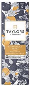Taylors Of Harrogate Nespresso-Kapseln Citrus Gold Kenya
