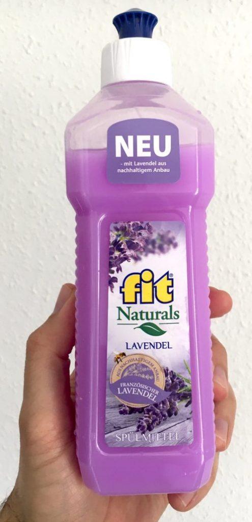 fit naturals Spülmittel Lavendel