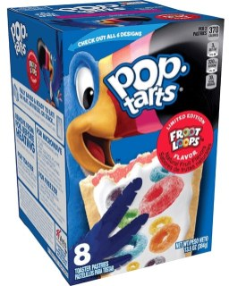 pop tarts Limited Edition Froot Loop 8er