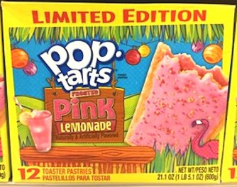 pop tarts pink Lemonade 12er