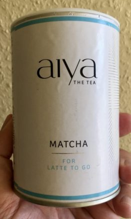 Aiya The tea Matcha for Latte to Go Pulver