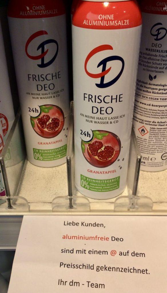 CD Frische Deo Granatapfel