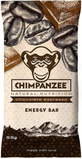 Chimpanzee Energy Bar Chocolate Espresso 55G
