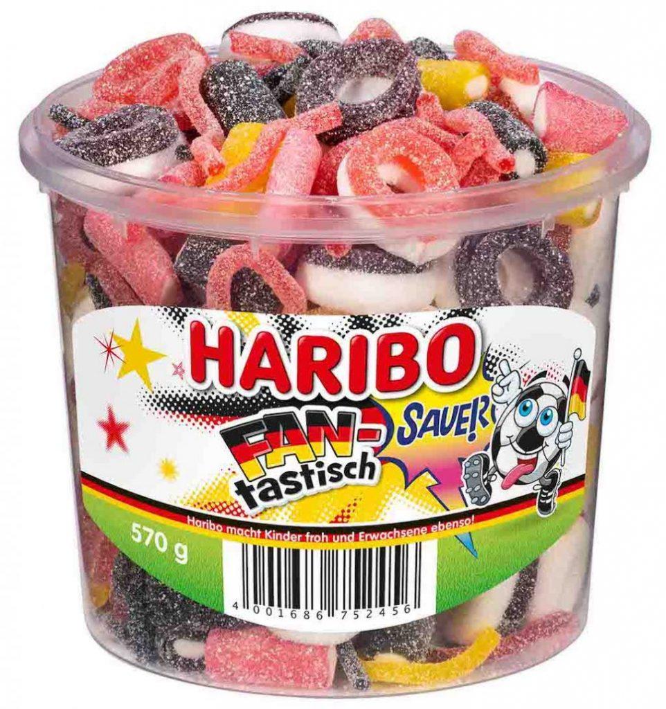Haribo Fan-tastisch Sauer Runddose 570g