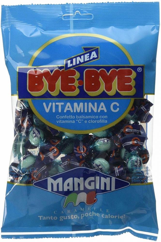 Mangini Linea Bye Bye Vitamina C Candies 100g