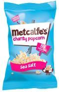 Metcalfes Charity Popcorn Sea Salt 20g