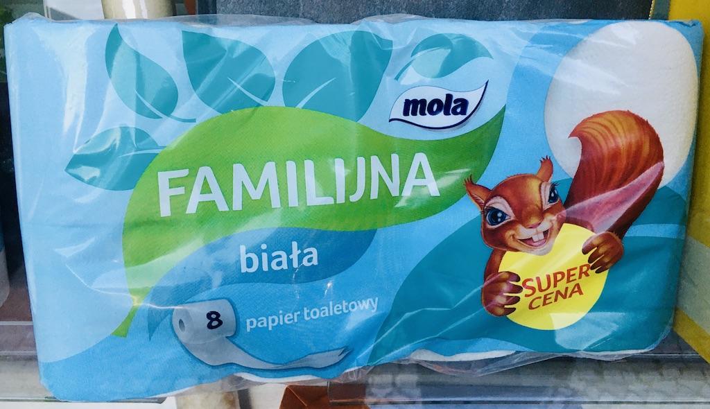 Mola Familijna biata Toielttenpapier Eichhörnchen