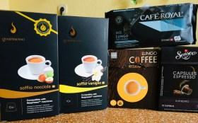 Nespresso-Kapseln Gourmesso Nocciola-Vaniglia-HEMA Lungo Coffee-Café Royal Lungo-Senseo Capsules Espresso