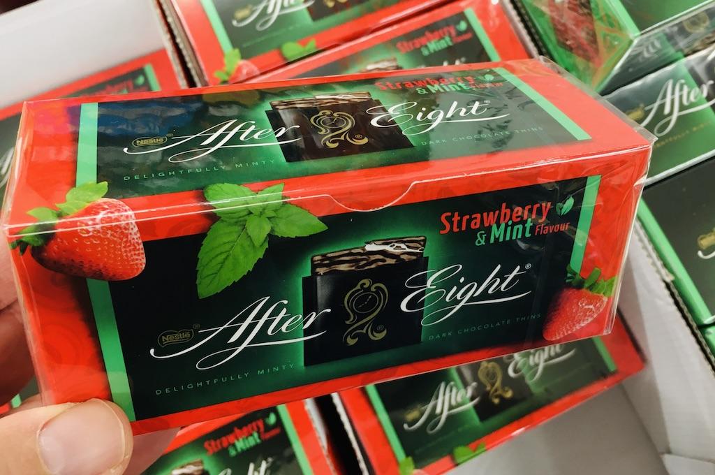 Nestlé After Eight Strawberry+Mint