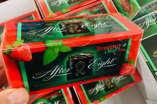 Nestlé After Eight Strawberry+Mint
