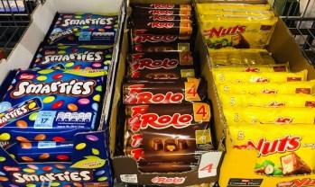 Nestlé Smarties-Rolo-Nuts