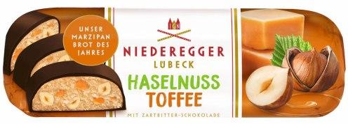 Niederegger Lübeck Marzipanbrot Haselnuss-Toffee 125G