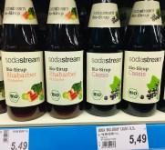 Sodastream Bio-Sirup habarberund Cassis