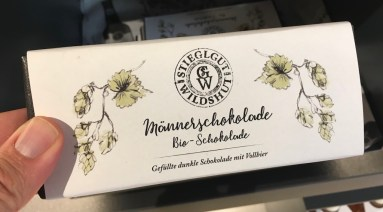 Stieglgut Wildshut Männerschokolade Bio-Schokolade mit Vollbier