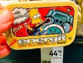 The Simpsons energit KIDZ Vitamintabletten, Tschechien, Bart-Motiv