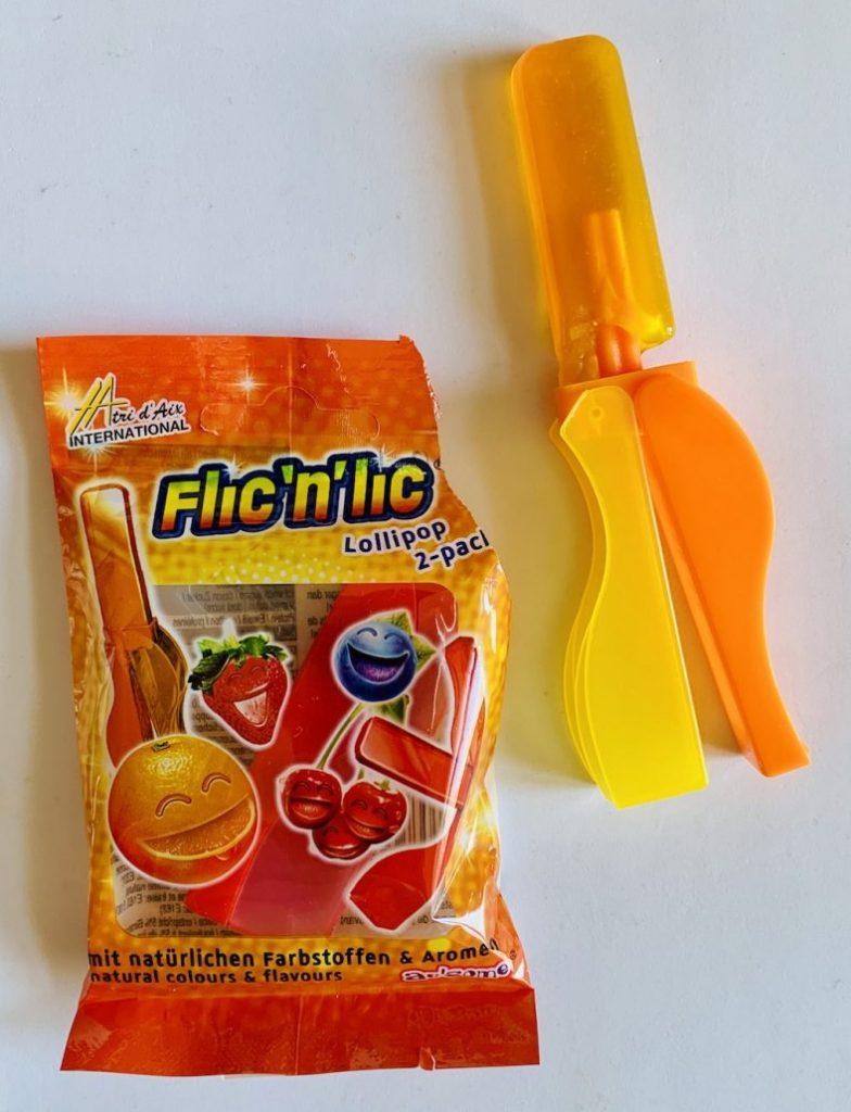 Tri D'Aix Flic'n'Lic Lollipop Orange-Blaubeere-Erdbeere