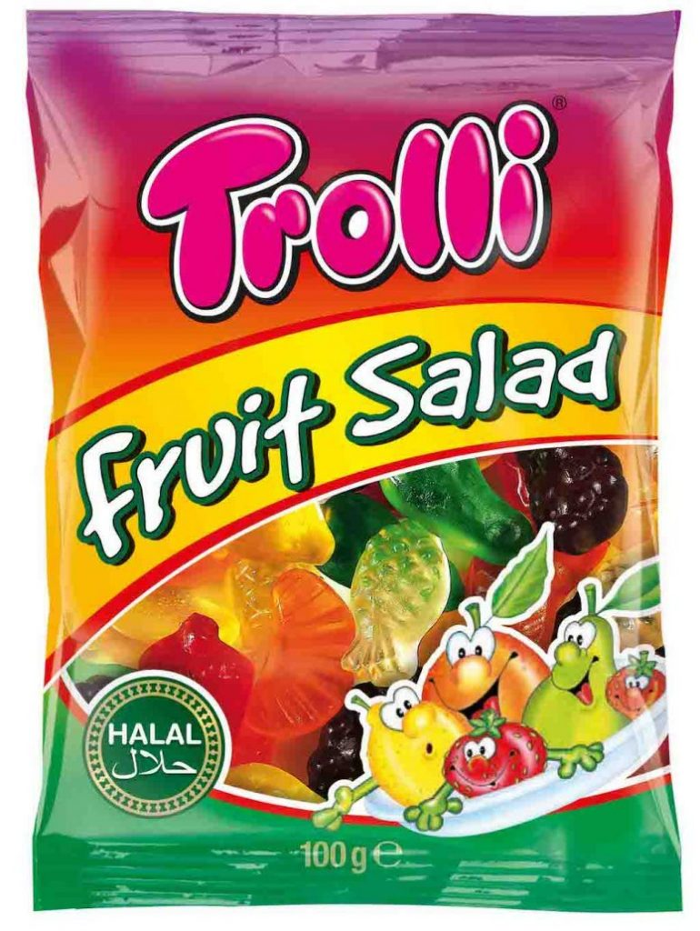 Trolli Fruit Salad Halal 100g