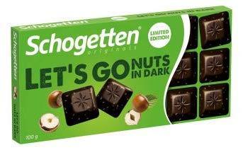 Trumpf Schogetten Let's Go Nuts in Dark