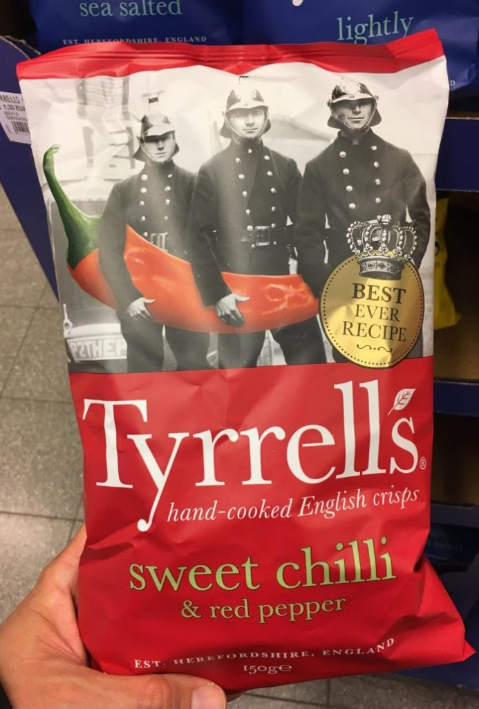 Tyrell's Sweet Chili+Red Pepper 150G