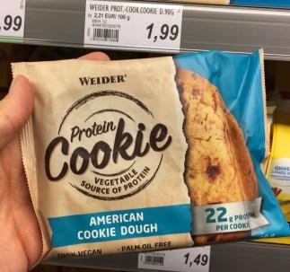 Weider Protein Cookie American Cookie Dough vegan ohne Palmöl 90G