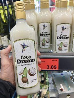 Aldi Coco Dream Sahnelikör