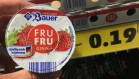Bauer Fru Fru Joghurt Erdbeere 0,2% Fett