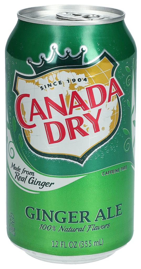 Canada Dry Ginger Ale 355ML Getränkedose
