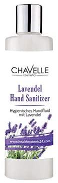 Chavelle Hand Sanitizer Lavendel Hygienisches Handfluid mit Lavendelöl