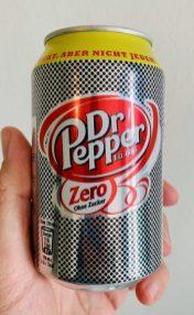Dr. Pepper Zero Zucker Dose