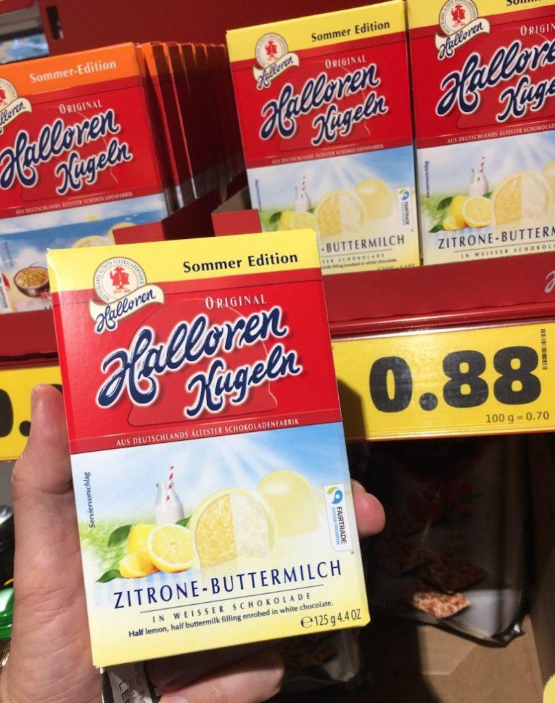 Halloren Kugeln Zitrone-Buttermilch