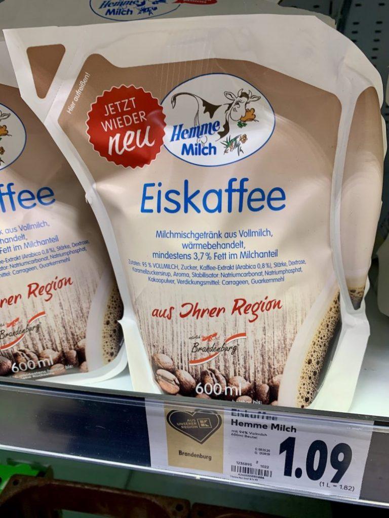 Hemme Milch Eiskaffee 3-7% Fett 600ml