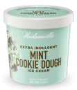 Hudsonville Extra Indulgent Mint Cookie Dough Ice Cream 473ml