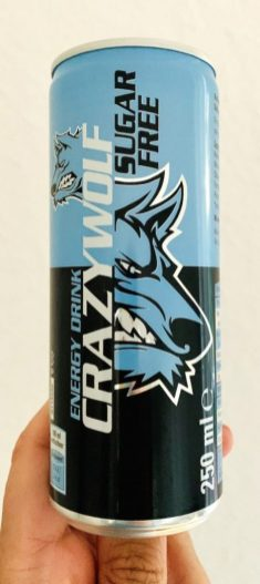 Kaufland Energy Drink Crazy Wolf 250ml