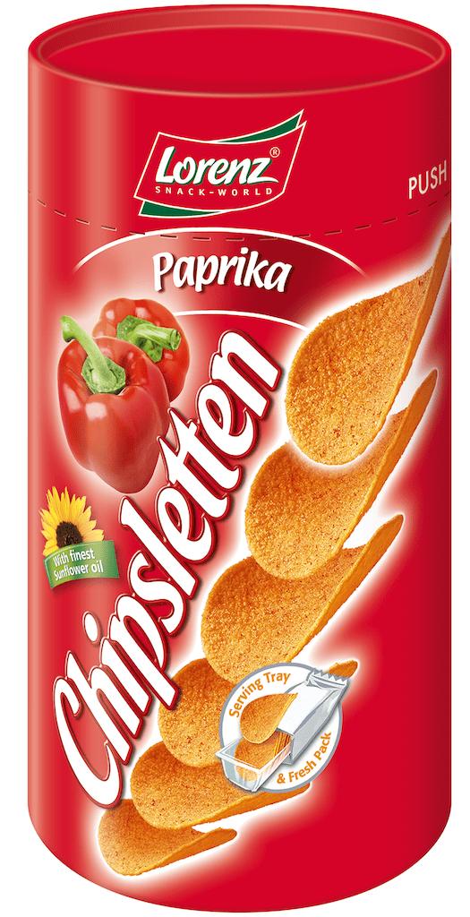Lorenz Chipsletten Paprika 50G