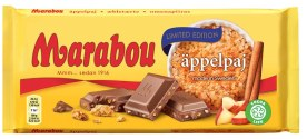 Mondelez Marabou äppelpaj apple pie 185g
