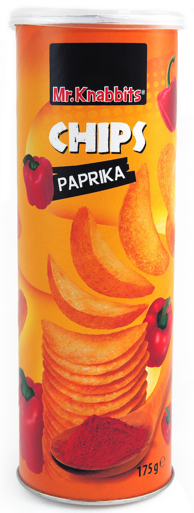 Mr. Knabbits Stapelchips Paprika 175g