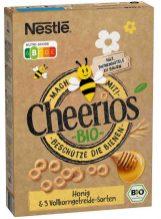 Nestlé Bio-Cheerios Honig 5 Vollkorngetreide-Sorten Bienen Nutriscore 330g