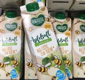Paradiso Apfelsaft naturtrüb Aus Liebe zur Biene Pro Planet 1L