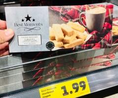 Penny Best Moments Shortbread Fingers Schottisches Gebäck mit Buttergeschmack