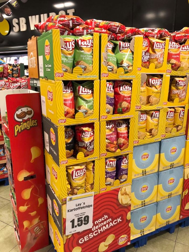 Pepsico Lays POS-Display