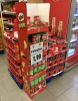 Pringles Midi Size Coca Cola Display